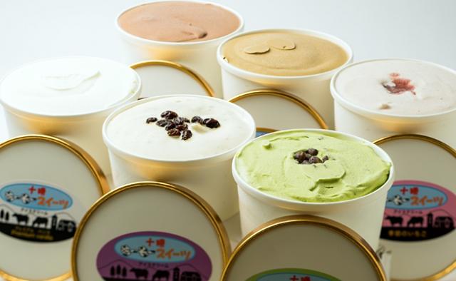 十勝もーもースイーツのアイスクリーム6種セット 画像